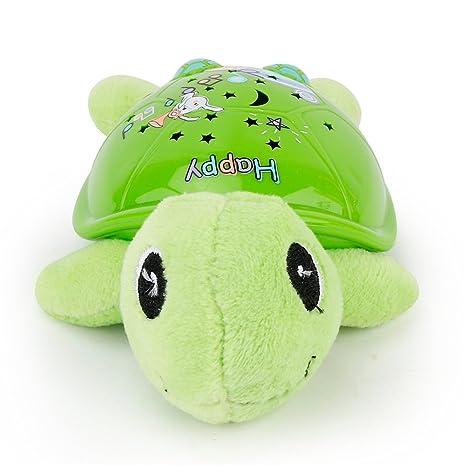 Para bebé juguete de peluche luminoso Proyector muñeca animal ...