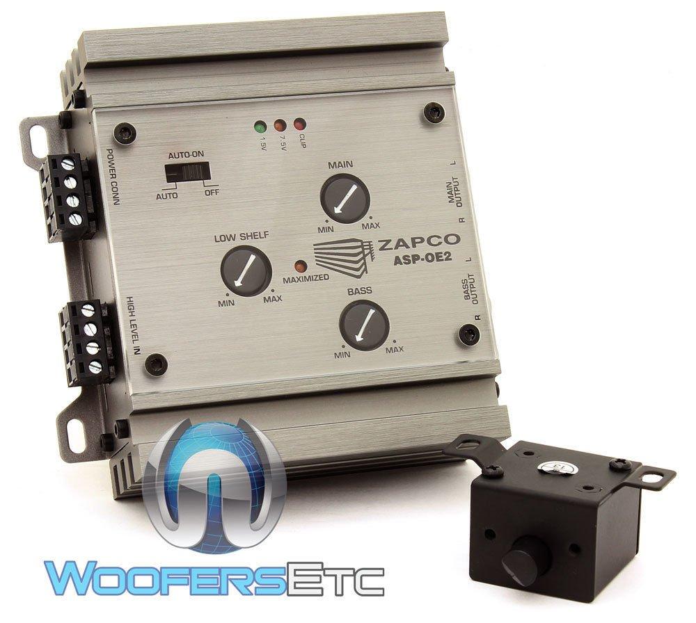 ASP-OE2 - Zapco OEM 2/4 Channel Signal Level Converter by Zapco