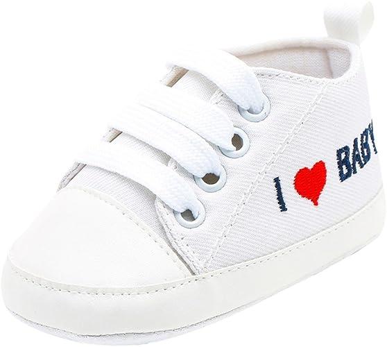 WINJIN Baskets Bébé Garçon Chaussures Bébé Filles Chaussure