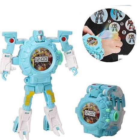 Teepao orologio da cartone animato giocattolo per bambini trasforma