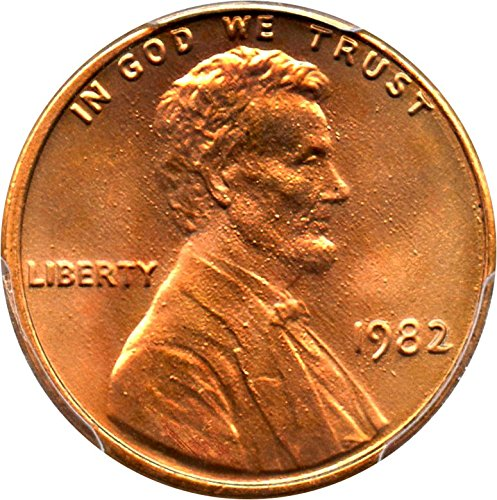 1982 P Lincoln Cents Zinc Large Date Cent MS67 PCGS (1982 Lincoln Cent)