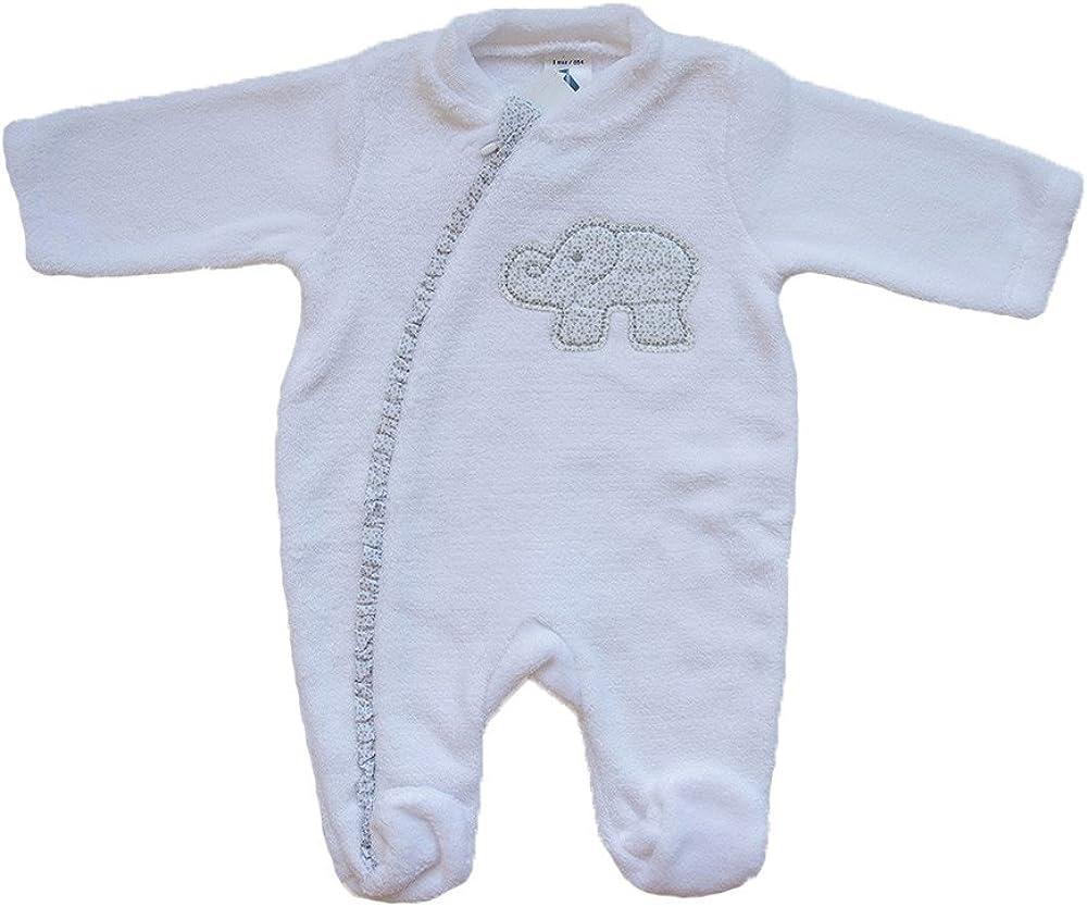 Buzo para dormir con un elefante en el pecho (12 meses ...