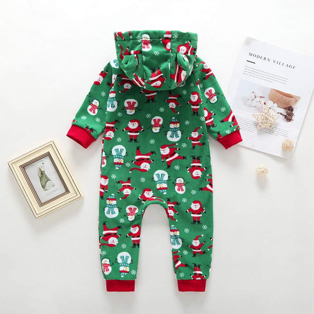 8b0e9718f601 Amazon.com   Christmas Baby Boys  Bodysuits Newborn Toddler Xmas ...