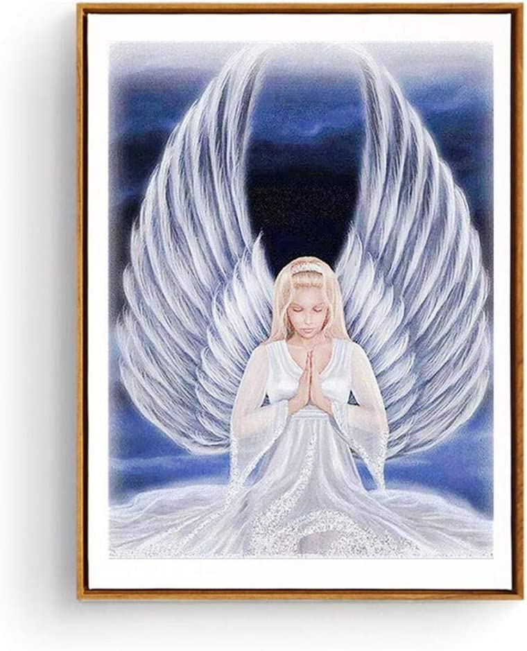 5D DIY Angel Wings Full Drill Diamond Embroidery Painting Cross Stitch Kits Gift