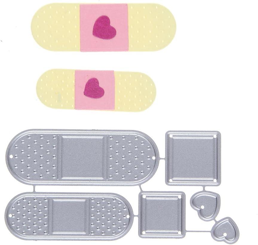 Get Well Soon Handmade Card with Band aid Heart Die Cut