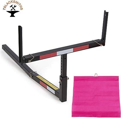 Ajustable Acero Pick Up Truck enganche de cama extensor extensión accesorio de para barco madera largo cargas canoa escalera: Amazon.es: Coche y moto