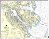 NOAA Chart 12282: Chesapeake Bay Severn and Magothy Rivers