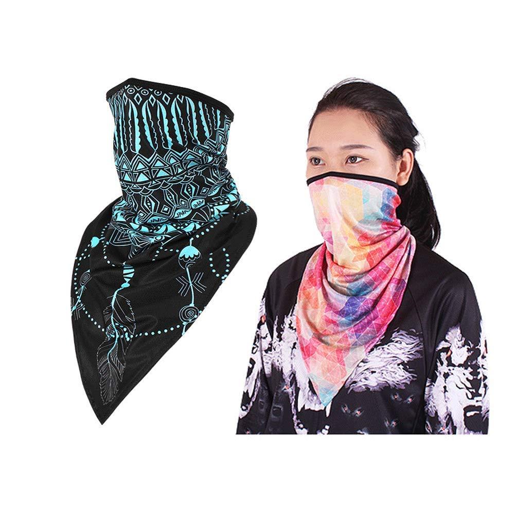 Crema Solare Maschera per Il Viso UV Protettivo Bandana Allungare Traspirante Esterna Che Guida Maschera per Uomo Donna
