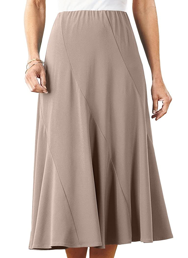 Asymmetrical Gored Skirt AmeriMark 057521