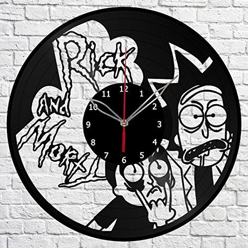Reloj de Pared Rick atrapando a Morty