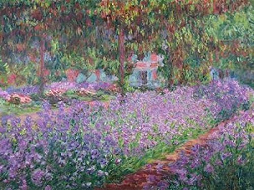 The Artists Garden at Giverny Poster Print by Claude Monet (11 x 14)
