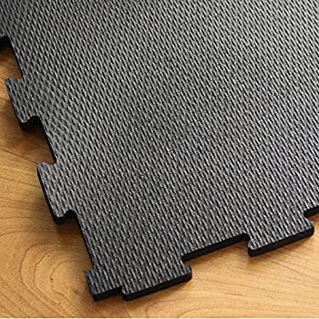 Incstores Home Gym Flooring Interlocking Rubber Tiles