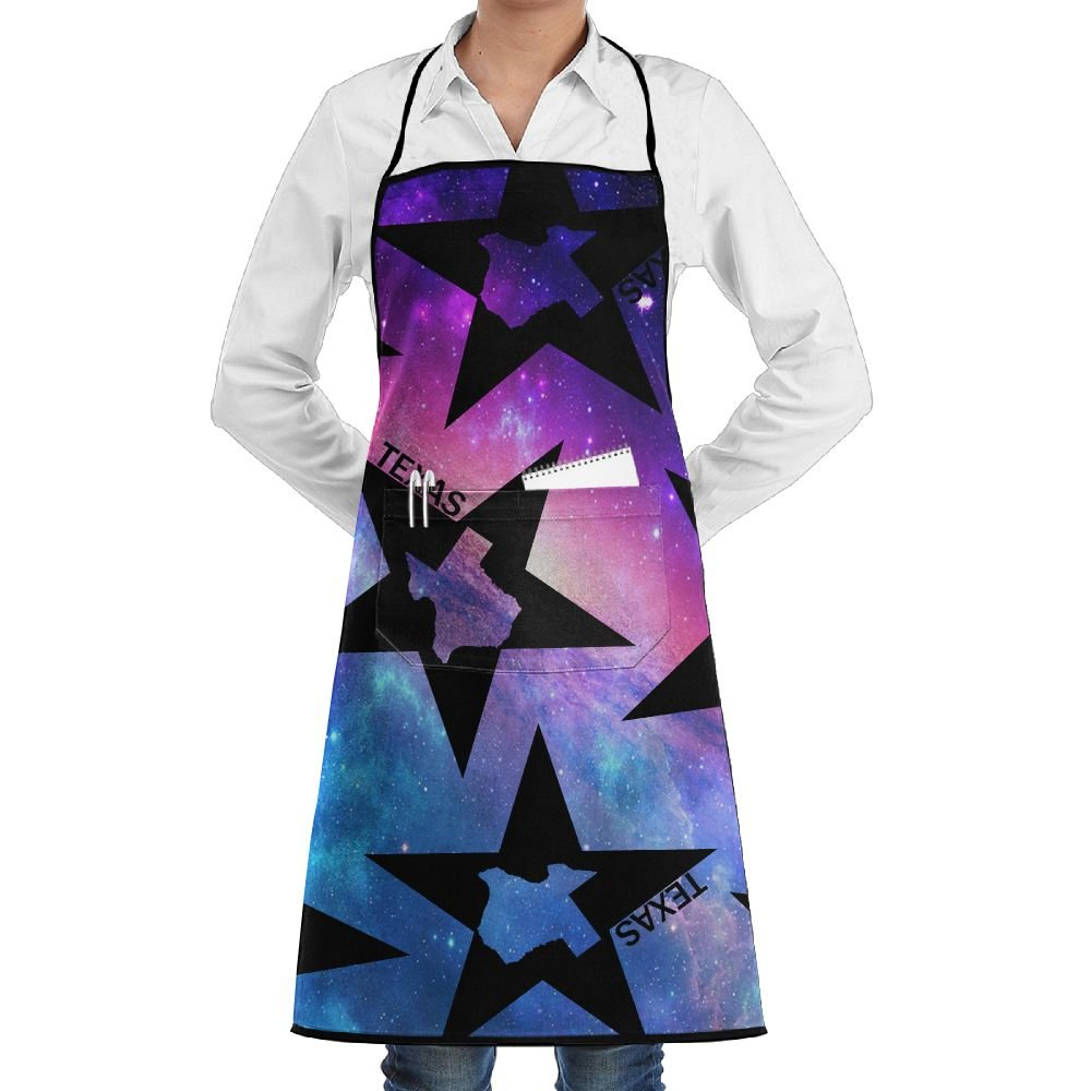 Texas Lover Women Adjustable Aprons For Kitchen Apron With Pockets
