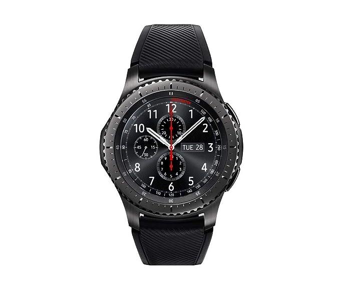 Amazon.com: Samsung Gear S3 - Reloj inteligente delantero ...