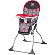 Disney Baby Simple Fold Plus High Chair, Mickey Line Up
