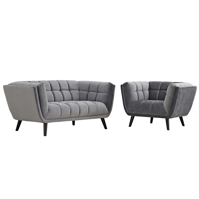 Amazon.com: Moderno juego de sofá y sofá de Lobby con diseño ...