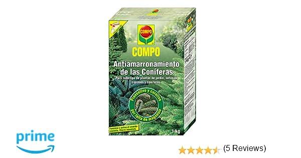 Compo 1288112011 Antiamarronamiento Coníferas 1 Kg 22x14.2x4.7 cm: Amazon.es: Jardín
