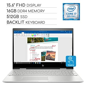 Amazon.com: HP Envy X360 2-in-1 2019 Premium 15.6