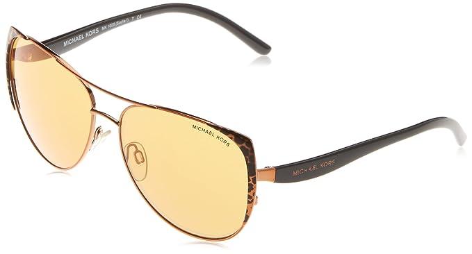 Amazon.com: Michael Kors 0 mk1005 Sun Full Rim Pilot – Gafas ...