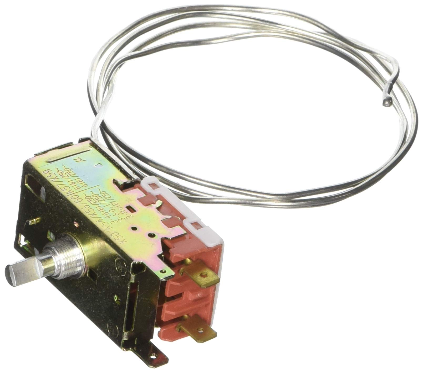 sourcingmap a13072900ux0732 K50-P1125 Refrigerator Refrigeration Thermostat 1M Metal Cord