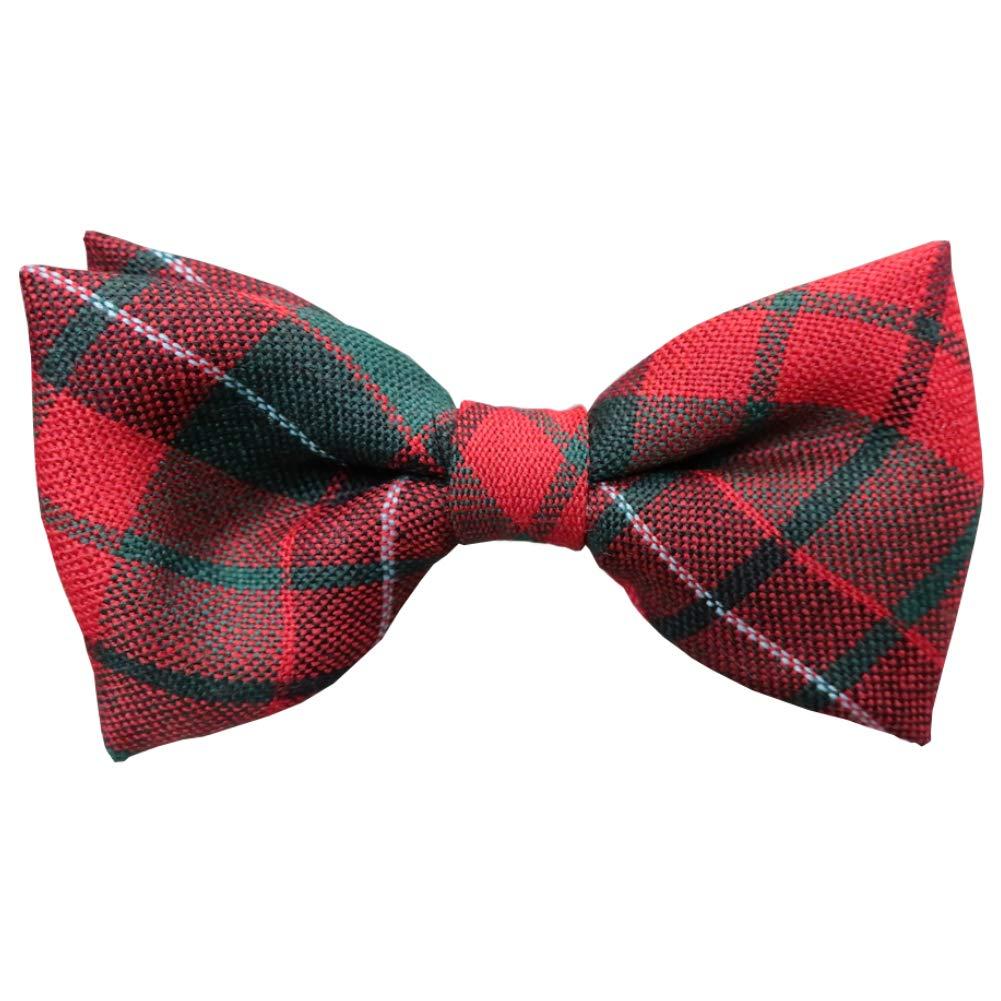 Ingles Buchan Herren Fliegen mit schottischem Tartanmuster 100/% Wolle