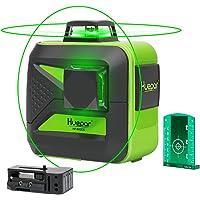 Huepar Nivel Láser 360, Nivel Laser Verde 40m