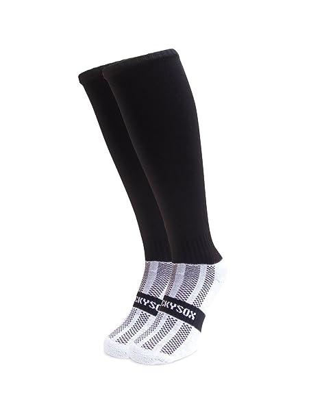 Wacky Sox Llano no negro rotación deportes calcetines equitación Adult Shoe Size 7-11