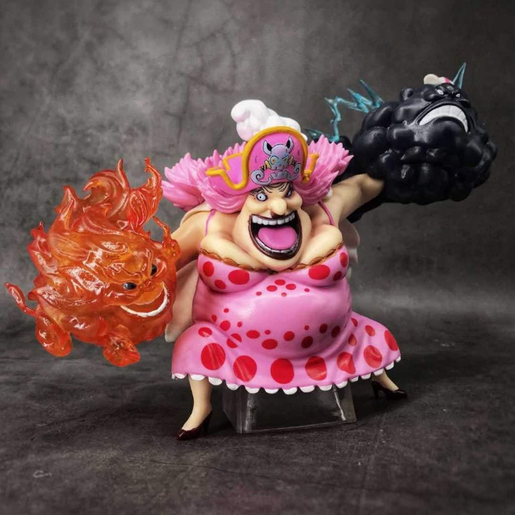 Vuelta de 10 dias XG YXZOZZ One Piece Piece Piece Anime Statue Big MOM Juguete Modelo PVC Exquisito Anime Decoración Colección de Artesanías -5.9in Colección  en stock