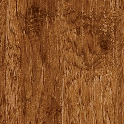 Hardware ALP003 Adura Glue Down Distinctive Collection Luxury Hickory Vinyl Plank Flooring, Saffron