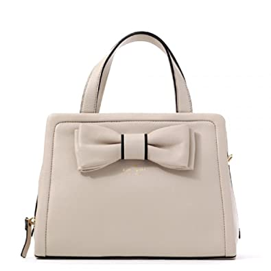 Amazon.com  Kate Spade Murray Street Dominique bow detail crossbody tote in  Pebble…  Shoes d8e590530e9c6