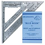 Tools & Hardware : Swanson Tool S0101 7-inch Speed Square Layout Tool with Blue Book