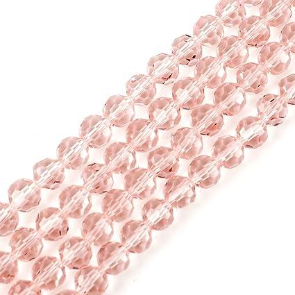 Hot Pink 4mm Glas künstlich perlen 200 Perlen