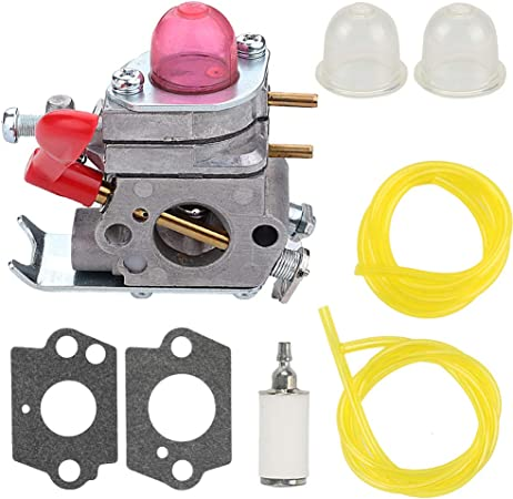 Mannial 530071811 Carburetor Carb fit Zama C1U-W19 530035592 Craftsman Weedeater 358791010 358791030 358791050 358791530 358791590 358796600 944514460 ...