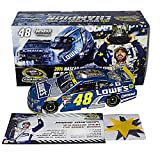 AUTOGRAPHED 2016 Jimmie Johnson #48 Lowes Racing 7X CHAMPION (Victory Lane Confetti) Hendrick Motorsports Signed & Inscribed Lionel 1/24 NASCAR Diecast Car with COA (#0605 of only 4,213 produced!