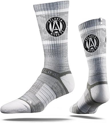 White Galaxy Premium MLS Los Angeles Galaxy MLS Crew Socks