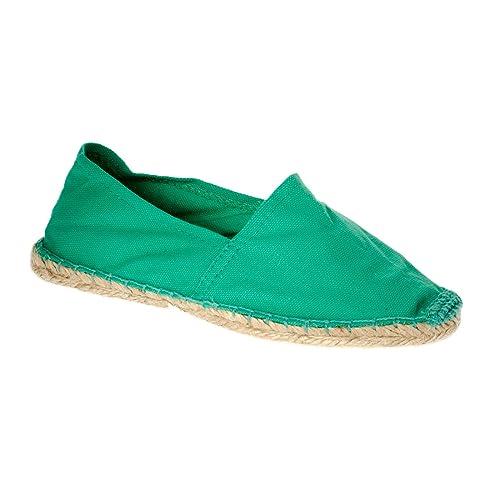 Sonnenscheinschuhe® - Alpargatas de Lona para Mujer Verde Verde Menta, Color Verde, Talla 36: Amazon.es: Zapatos y complementos