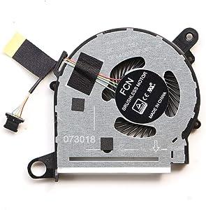 855966-001 CPU Fan For HP X360 13-U M3-U M3-u001dx M3-u003dx 13-U016tu 13-U151tx 13-U116tu 13-U017tu 13-U020ca 13-U038ca 13-U024ca 13-U163nr 13-u157nr 13-u167nr 13-u169nr TPN-W118 CPU Cooling Fan
