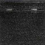 JFN Privacy Screen, 9′ x 50′, Black Review