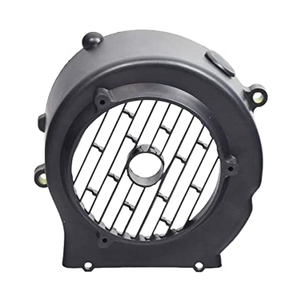Amazon.com: AlveyTech Black Plastic Cooling Fan Cover for 150cc GY6 Go-Kart & Scooter Engines: Automotive