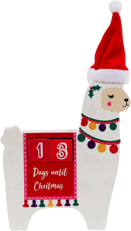 Sass & Belle Llama Christmas Countdown