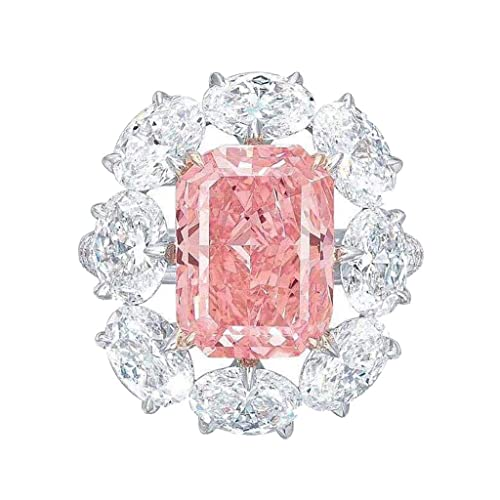 bague diamant forme carre