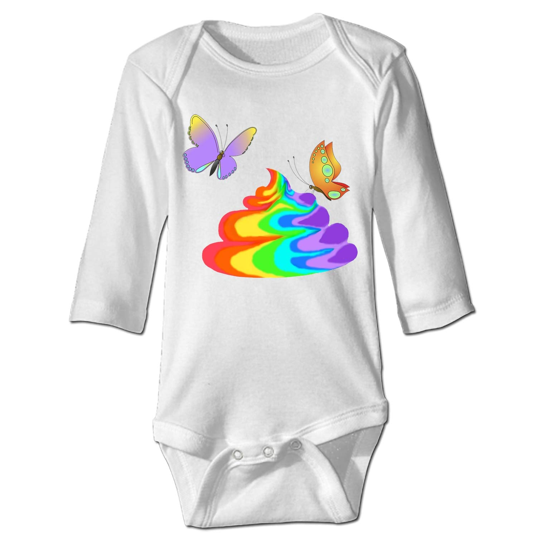 Unicorns Poop Infant One Piece Snapsuit Bodysuit