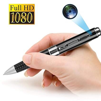 USB DV Espía Pluma cámara, HD 1080P Cámara Oculta videocámara Mini grabadora de vídeo con