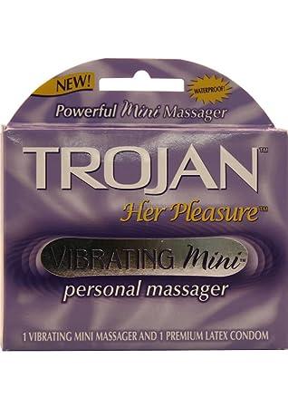 pleasure vibrating her mini Trojan