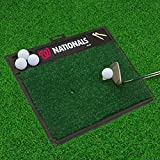"Fan Mats 16858 MLB - Washington Nationals 20"" x 17"" Golf Hitting Mat"