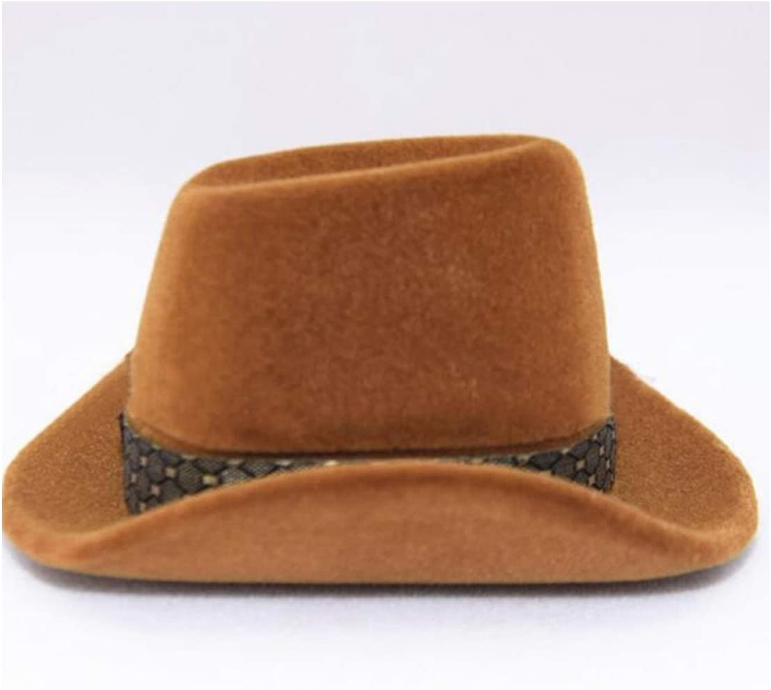 Wyenliz Caja de Anillo con Forma de Sombrero de Vaquero, único y ...