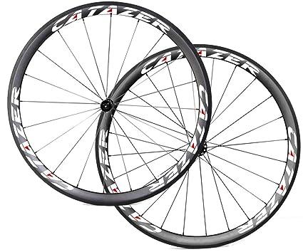 Carbon Wheelset 700C Clincher Straight Pull 38mm R36 3K Matte Road Bike Wheels