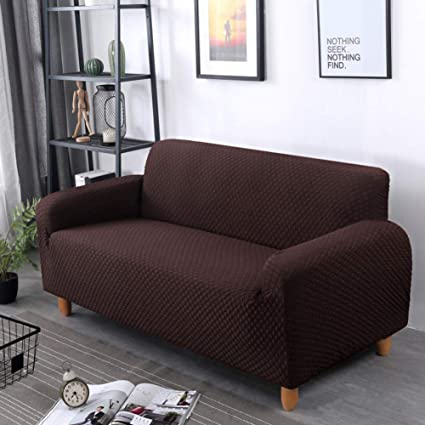 Merveilleux AFAHXX Thicken Slipcover,Non Slip Easy To Disassemble Clean Solid Color Gingham  Sofa Cover