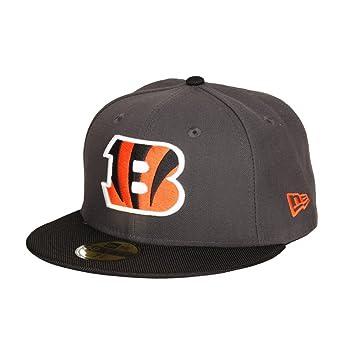 New Era Cincinnati Bengals Ballistic Visor 59FIFTY Fitted NFL Cap ... 26dcd3aab81e