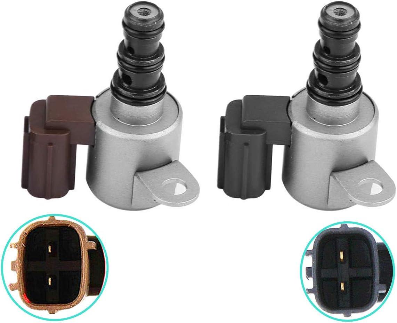 WonVon Transmission Shift Solenoid Kit,2 PCS Transmission Shift Control Solenoid Valve B/&C Kit Set for Honda Accord Acura